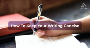 How To Keep Your Writing Concise